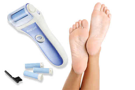 Bodysource - Portable pedi roller with four buffing rollers - Save 76%