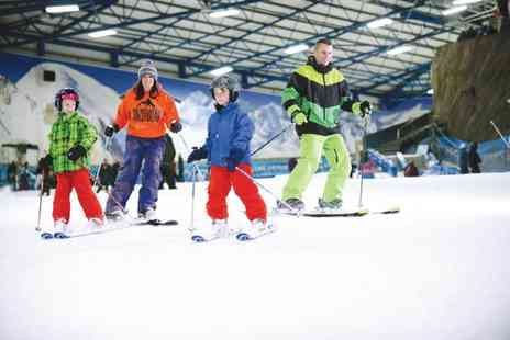 SnowDome - Two or three hour skiing or snowboarding lesson - Save 50%