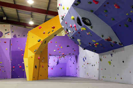 Boulder Central - 45 minute climbing induction, unlimited climbing for the rest of the day and annual membership for one or two - Save 79%