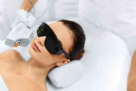 Nara Health & Beauty - London 3 sessions of laser hair removal on 2 medium areas - Save 90%