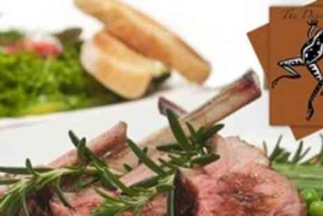 The Dining Room - Two Courses of British Fare For Four With Glass of Wine Each - Save 57%