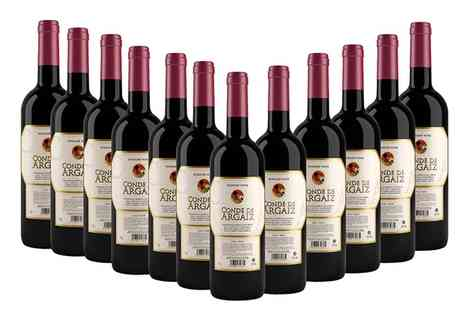 Monte Regio - 12 Bottles of Spanish Red Wine With Free Delivery - Save 63%