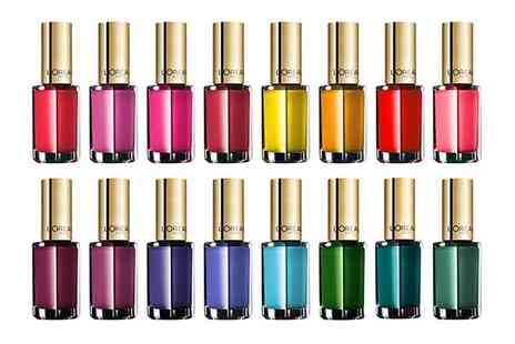 Groupon Goods Global GmbH - Up to 15 L Oreal Color Riche Nail Polishes - Save 85%
