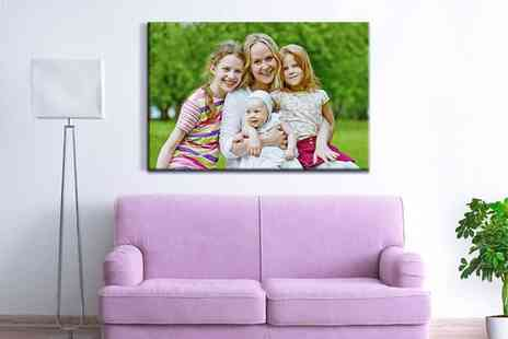 Photo Gifts - Customised Photo Canvas - Save 75%
