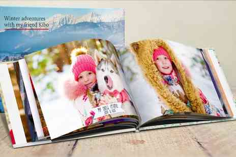 Printerpix - Hardcover Photobook A4 - Save 83%