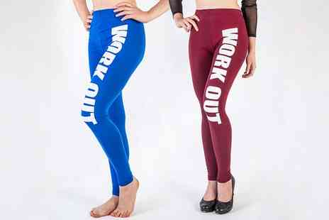Groupon Goods Global GmbH - Womens Workout Leggings in Choice of Colour - Save 0%