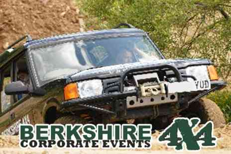 Berkshire 4x4 - Half Day Off-Road Driving Experience for £48 with Berkshire 4x4 - Save 60%