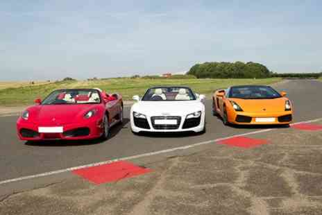 Goodwood Motor Circuit - Triple Supercar Driving Experience - Save 26%