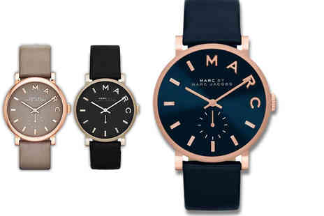 Plus Watches - Marc Jacobs ladies watch choose from three stunning designs - Save 46%