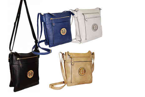 Pearl Info - Embellished cross body shoulder bag choose from four colours - Save 67%