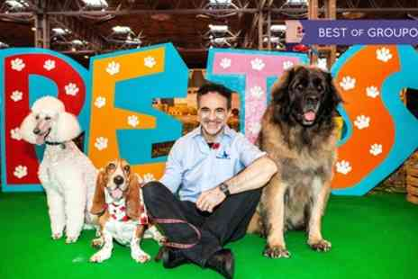 National Pet Show - One child, adult or family of four ticket to National Pet Show on 6 To 7 May - Save 25%