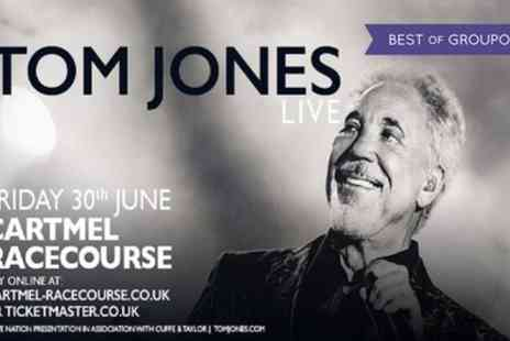 Cuffe and Taylor - Tom Jones General Admission Ticket plus All Day Racecourse Entry on 30 June - Save 0%