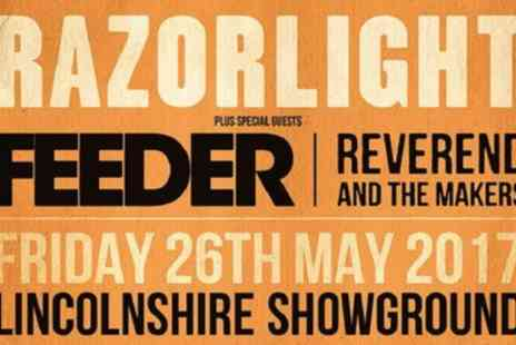 VMS Live 2011 - Razorlight, Feeder and Reverend and the Makers on 26 May - Save 0%