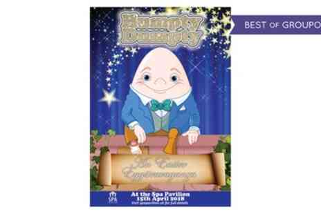 Humpty Dumpty - One adult, child or family ticket to see Humpty Dumptys Eggstravaganza on 15 April - Save 44%