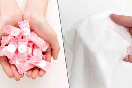 Graboom - 50 Mini Disposable Compressed Towels - Save 0%