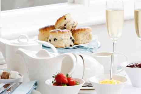 Pentire Hotel - Afternoon Tea for 2 with Bubbly & Sea View - Save 46%