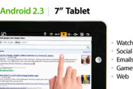 "Umbrellani - 7"" Android Tablet - Save 68%"
