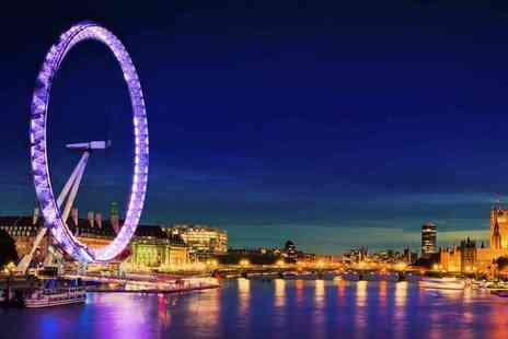 OMGhotels - Overnight London stay with breakfast and Champagne London Eye experience - Save 0%