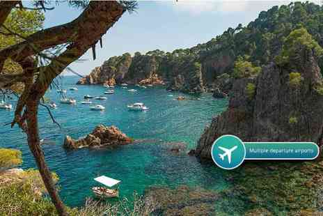 Crystal Travel - Three, five or seven night all inclusive Costa Brava spa break with flights - Save 35%