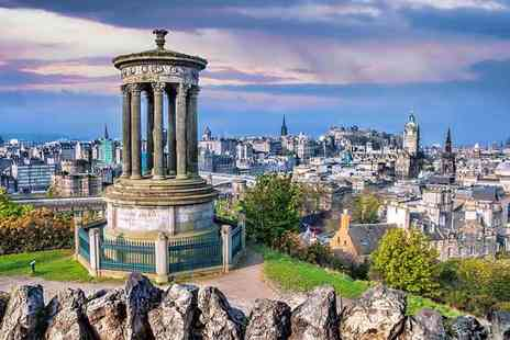 OMGhotels - Overnight Edinburgh stay with breakfast and two course dinner - Save 34%