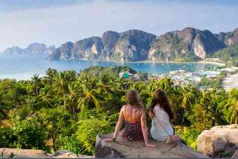 Great Pacific Travels - Ten night Bangkok, Phuket & Phi Phi island trip, breakfast, flights & ferry transfer - Save 21%