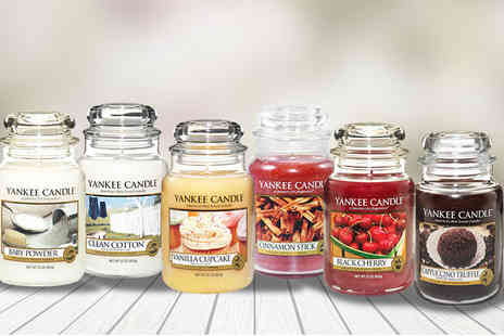 Wowcher Direct - Large Yankee candle - Save 21%