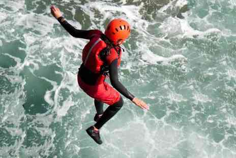 Harbour Challenge - Three hour coasteering experience for one - Save 34%