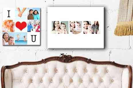 Grange Print - Personalised Framed Collage or Single Image Canvas - Save 92%