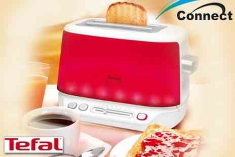 Connect Distribution - Tefal Toast n Light Colour Changing Toaster for £30 - Save 54%