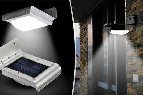 Supreme Direct - Motion Detecting Solar Security Light - Save 65%