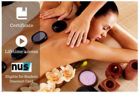 OfCourse - Online hot stone massage course - Save 86%
