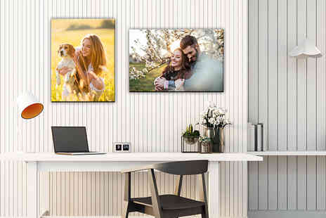 Kanvas Prints - Personalised A4 canvas - Save 88%