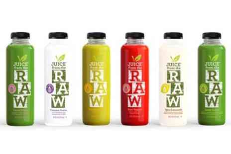 Juice from the Raw - Three Day Cold Pressed Juice Cleanse - Save 56%