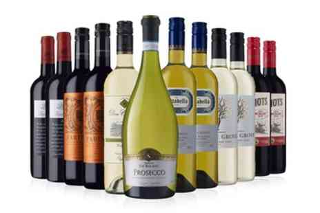 Laithwaites Wine - 12 Bottles of Red, White or Mixed Wine with Prosecco and Laithwaites Wine Plan Membership - Save 60%