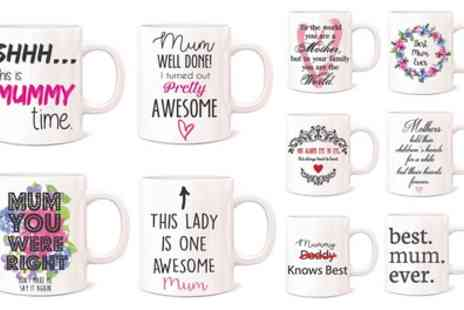 Groupon Goods Global GmbH - Mothers Day Mug - Save 62%