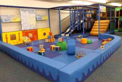 Cheeky Cherubs Soft Play - Up to Five Sessions of Soft Play with a Meal and Juice for One or Two Kids - Save 38%
