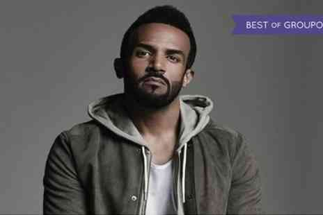 VMS Live - Craig David Live General Admission Ticket on14 July - Save 0%