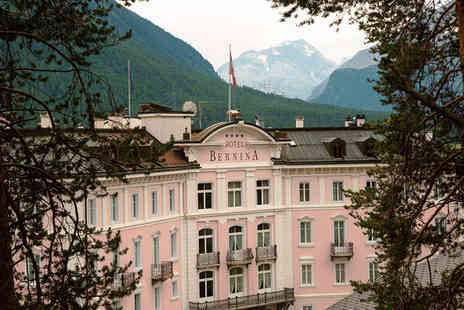 Hotel Bernina 1865 - Four Star 5 nights Stay in a Comfort Room - Save 0%