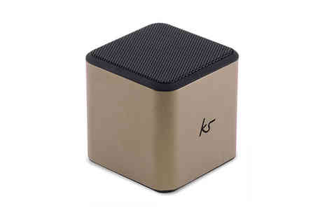 Ckent - KitSound cube portable line in speaker - Save 50%