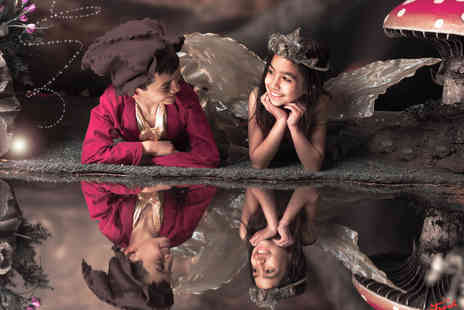 The Fresh Group - Fairy and elf photoshoot including two prints and two - Save 92%