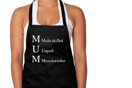 Treats on Trend - Mothers Day apron choose from two designs - Save 68%
