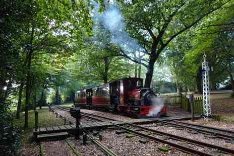 Bredgar & Wormshill Light Railway - Ticket for one adult and one child to an Easter egg hunt on 16th April - Save 43%
