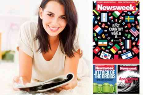 Newsweek - 52 Week Subscription to Newsweek Delivered to Your Door Plus Limited Edition Newsweek Laptop Rucksack - Save 67%