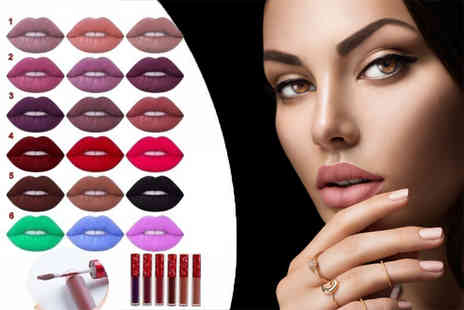 Quickclipin - Three matte finish lipsticks available in six collections - Save 77%