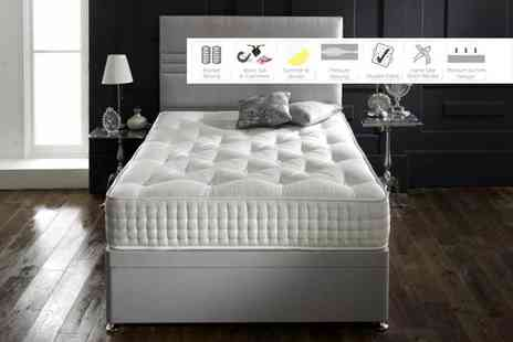 Sleep Express - Superior all-seasons 3000 mattress select from five sizes - Save 78%