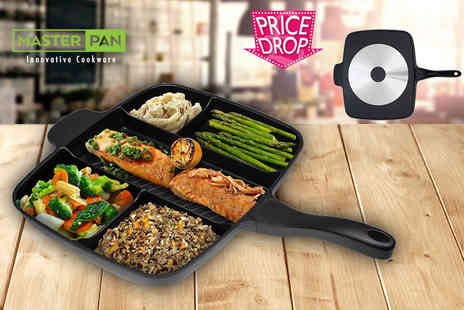 Craze UK - Five in one master frying pan or induction pan - Save 72%