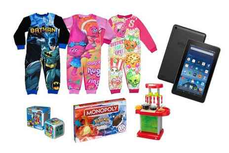 Groupon Goods Global GmbH - Kids Mystery Onesie Deal With Chance To Win Amazon Tablet or Toys - Save 0%