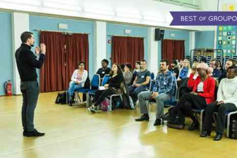 MeetUp - Public Speaking Practice for Beginners on 3 April to 2 October - Save 87%