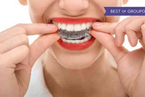 Harley Dentist - Clear Braces for Upper or Lower Arch or Both - Save 53%