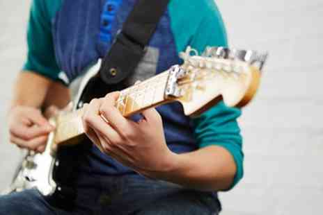 Rhythm Room - Three Private 45 Minute Guitar Lessons - Save 72%